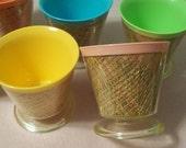 Raffia Burlap Dessert Cups