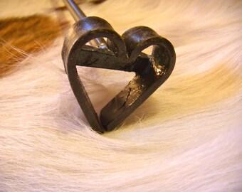 Branding Iron, Valentine's Heart