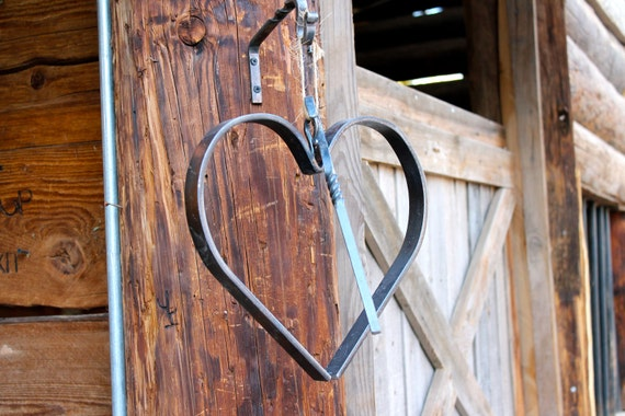 Large Heart Dinner Bell