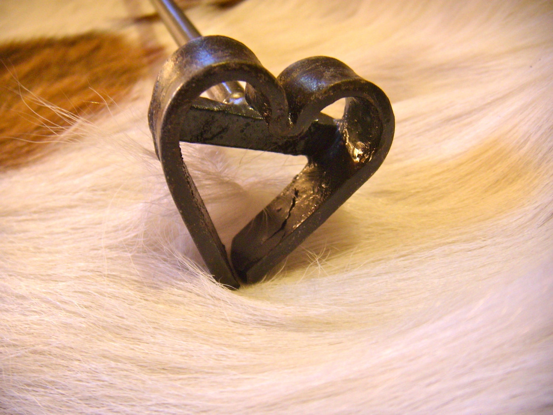 Branding Iron Valentine's Heart