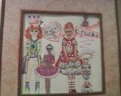 Alice in Wonderland and friends