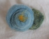 Plant Dyed Felted Hair Barrette