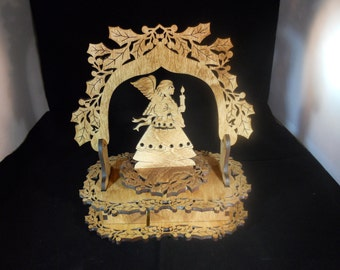 Music Box- Intricate Angel- Personalized