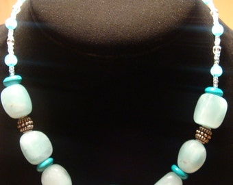 Chinese Turquoise / Amazonite Necklace