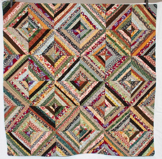 No. 2, String Quilt, Ivesdale Autumn