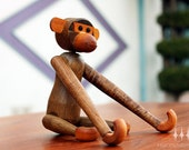 Kay Bojesen Teak Toy Monkey