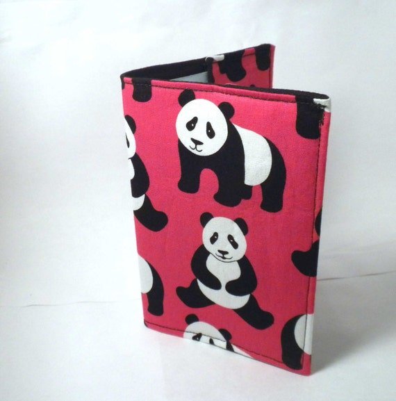 Panda Passport Cover red panda passport case wallet
