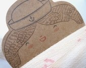 Ribbon - Hand Stamped - Fabric Ribbon - Hand Stamped Ribbon