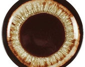 HTF Rare Pfaltzgraff Brown Drip Bread/Butter/Dessert Plate 6-1/2 Inches
