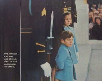 Life Magazine December 6, 1963 Cover JFK funeral Jackie with children