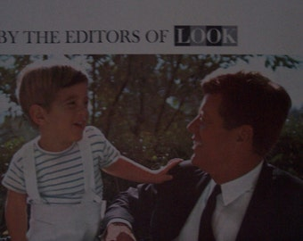 LOOK Magazine December 3, 1963  Cover: The President and his son, John Jr