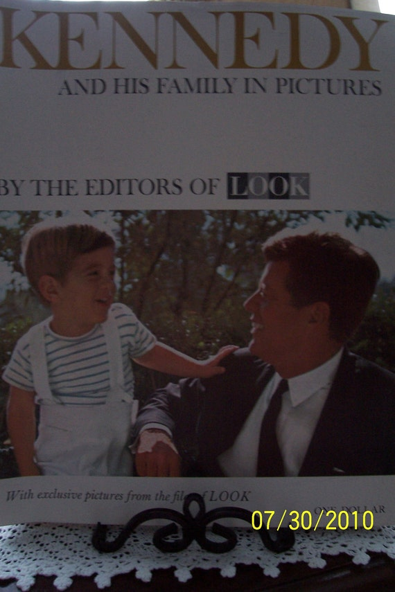 LOOK Magazine December 3, 1963 The President and His Son Kennedy JFK