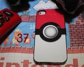 pokemon Apple Iphone 4 / 4 case pikachu pocket monster nintendo gamboy red blue yellow poke ball