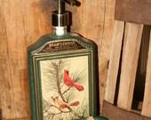 Jim Beam Liquor Bottle Soap Dispenser - Beam's Choice Whiskey Bottle Lotion Dispenser