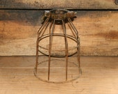 Industrial Light Vintage Style Metal Wire Cage Guard - Cage Only