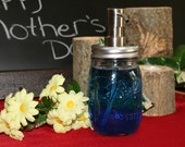 Mason Jar Foaming Soap Dispenser with Metal Pump - Pint Jar Foamer Pump - Ball Mason Jar Foaming Pump