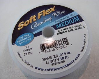 Softflex Medium Stringing Wire 49 Strands 30 ft. #402-01930
