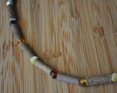 Therapeutic Hazelwood & multi-colored Baltic Amber Necklace