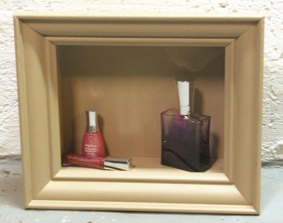 Items similar to vintage picture frame display shelf for Bathroom decor picture frames