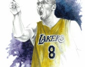 Kobe Bryant - LA Lakers Basketball