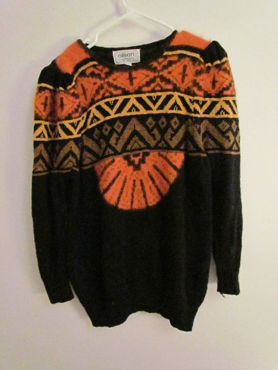 Aztec South Western Inspired Oversized Sweater