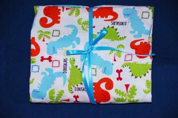 Crib Sheet Dinosaur Fitted Cotton For Baby Or Toddler