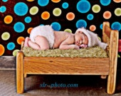 Crochet Pattern by Hooker Heaven Mini Grass Photography Prop Baby Blanket