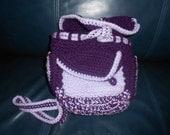Handmade Crochet Backpack - FREE SHIPPING
