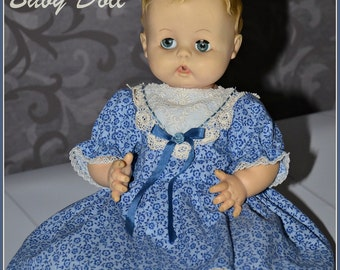 1950s Effanbee Baby Doll, Childs Toy, Little Girls Dolly, Vintage