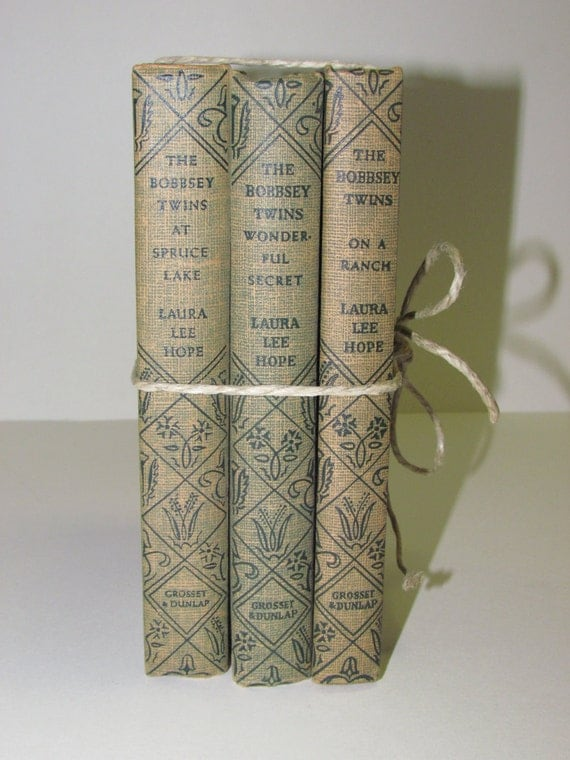 Reserved for Jane Trio of 1930s Bobbsey Twins Books