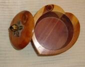 Vintage Collectible Souvenir Wooden Box - Great for your Vintage Trailer