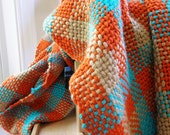 Fall Cotton Handwoven Scarf