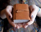 Leather Journal and Sketchbook Retro - Personalized free