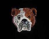 Crystal Diamante Rhinestone Design T-Shirt Pet Puppy Dog Cat Bling