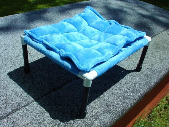 Turquoise sky blue 15 by 19 inch cat hammock or dog hammock