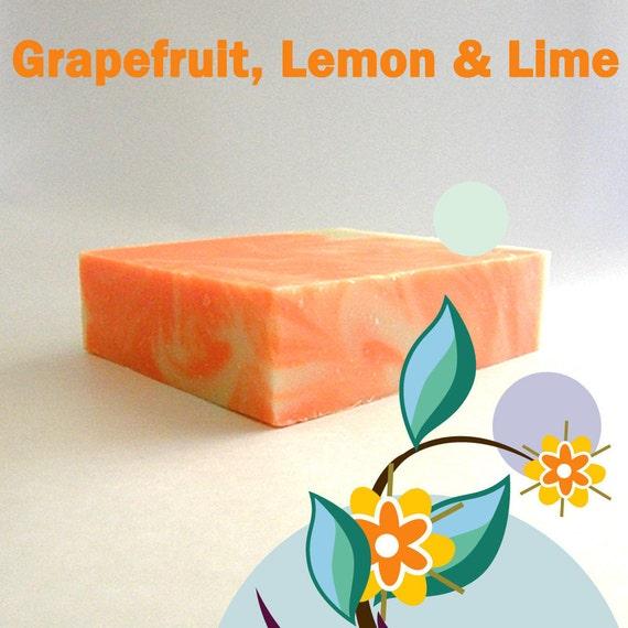 Grapefruit, Lemon & Lime Soap