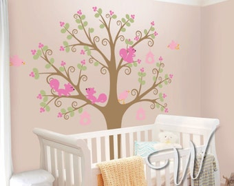 Princess Tree - Nursery Wall Decal