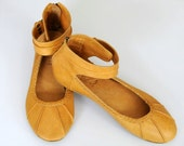Ready to SHIP. MUSE. Ballet flats for reduced price / womens leather shoes. size 6 US. Size 36 eur.