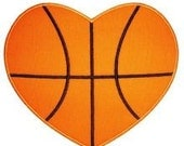 Infant, Toddler and Boys Valentine's Day Basketball Heart T-Shirt