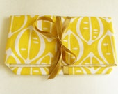 Fabric Clutch Bag - Fold and Tie Ribbon - mylifeasabowerbird