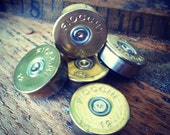 5 Recycled Shotgun Head Caps ammo Bullet Steampunk Supply Craft  Rifle Duck Bird Hunting