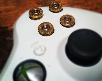 Xbox 360 9mm bullet buttons ABXY game controller