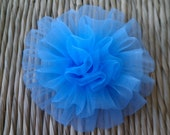 new 3 inch rosettes assorted set crafting supply hairbows supply blue
