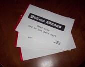 3 Zine Collection Random Lunacy by Jenn Flynn-Shon Second Printing Black & White