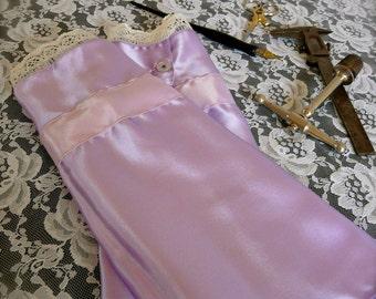 Countess' Cuffs - Victorian Steampunk Pale Lavender Purple