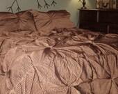 Rosette Duvet Cover and Pillow Shams (Anthropologie style)