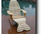 Adirondack Fish Chair & Footrest Woodworking Plans