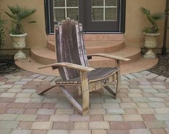 adirondack fish chair footrest by goldcountrywoodworks. Black Bedroom Furniture Sets. Home Design Ideas