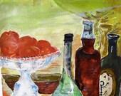 Vine ,still life print