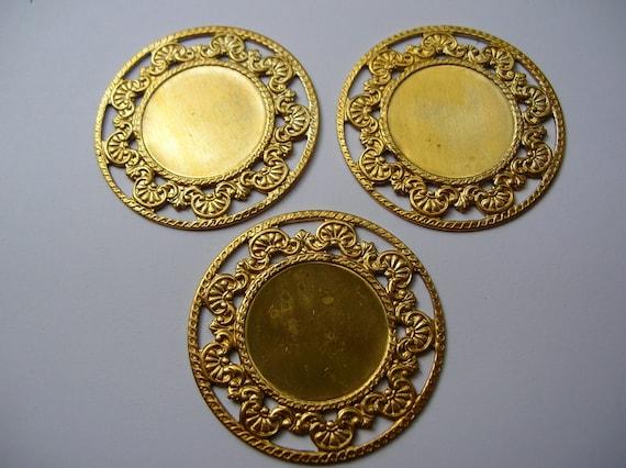 Frame brass stamping , brass finding , jewelry supply